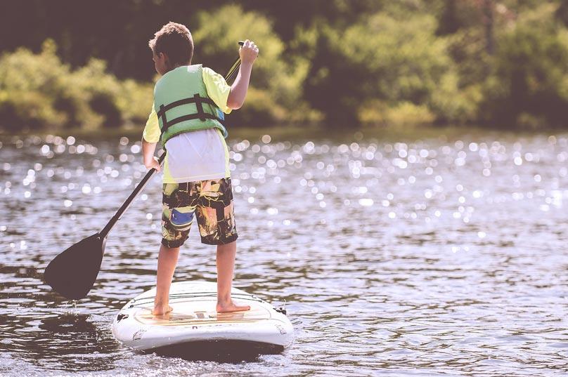 paddle surf para niños en alicante