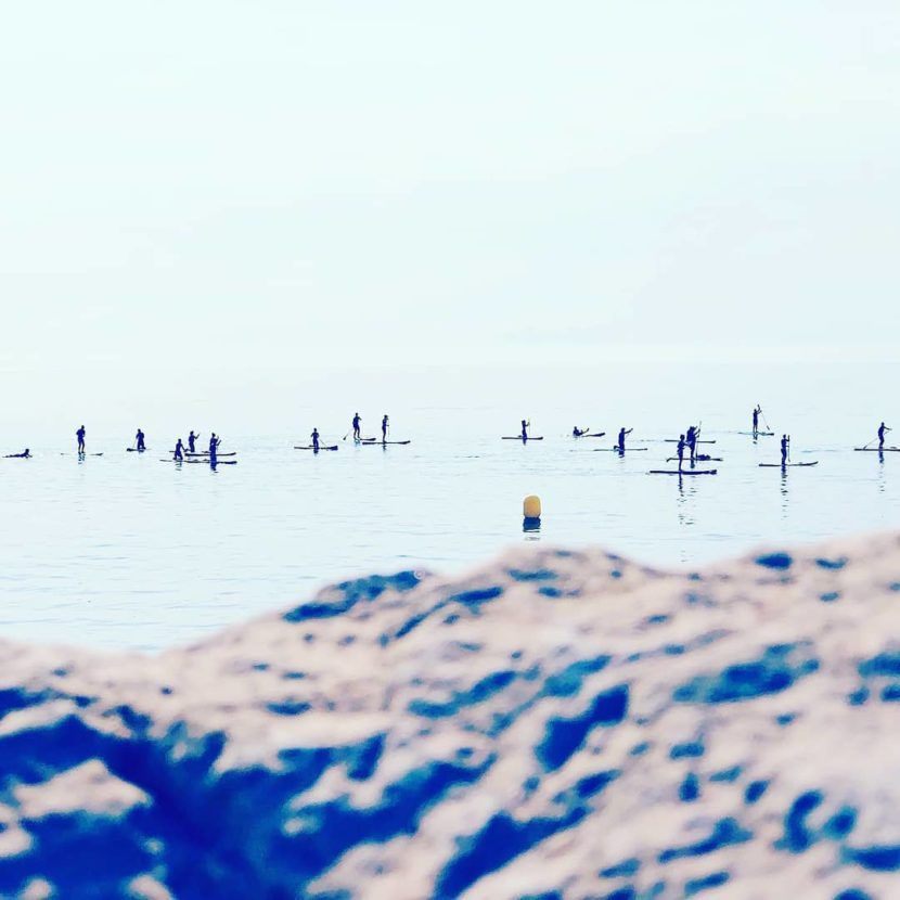 Cursos Inciación Paddle Surf Alicante